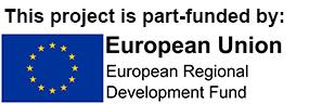 ERDF funded logo
