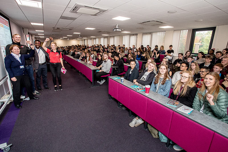 Our new students' induction