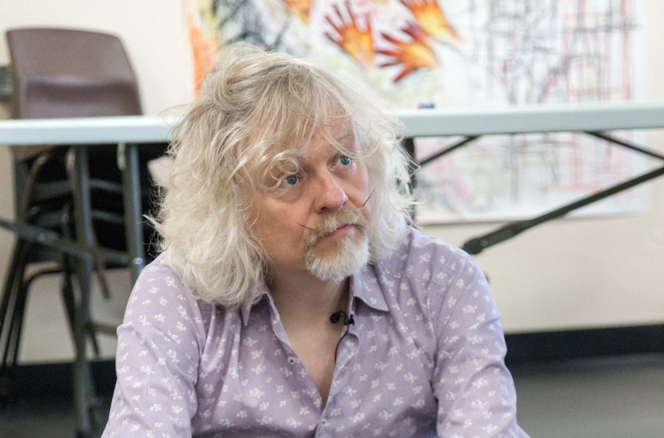 Marty Jopson when he visited Kingsway Campus earlier this year