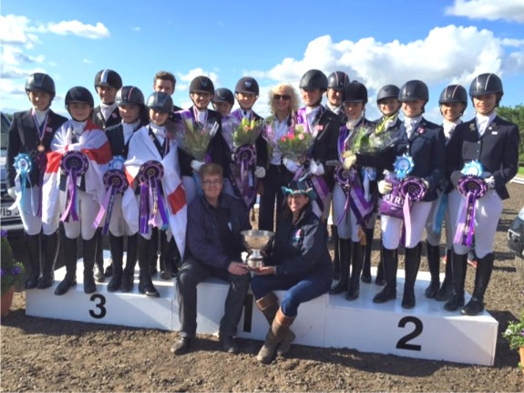 Dr Moira Lafferty Leads Equestrian Team To Victory