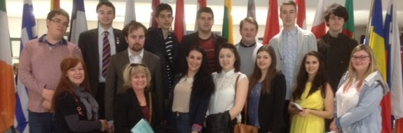 Student Visit to the EU Parliament in Brussels