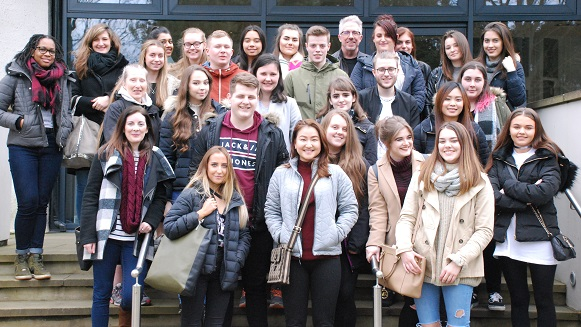 Tourism students in York.