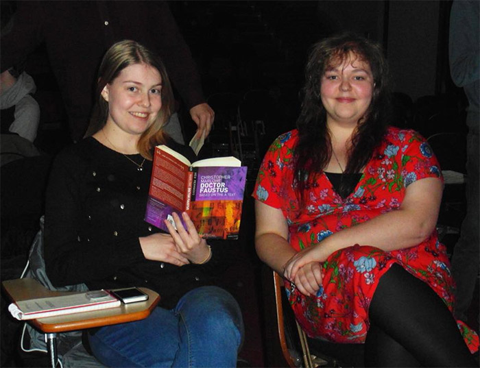 Director, Jessica Allerton, and Co-Director, Lucy Whitfield.
