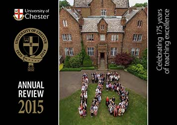 Annual Revew 2015 front cover