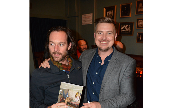 Dr Martin Potter and Dr Jonathon Louth at the book launch in Adelaide.