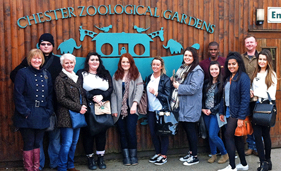 Criminology Students visit Chester Zoo to listen to the Choose Life Project