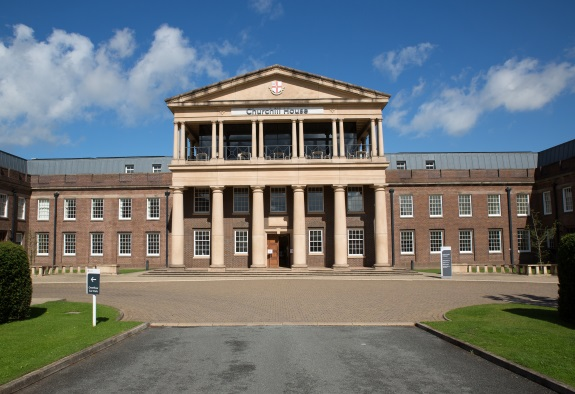 The University of Chester's Churchill House – previously known as Western Command in its former life.