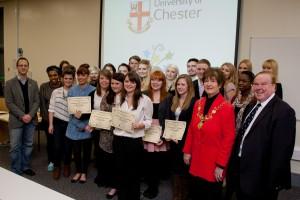 chester university events society awards