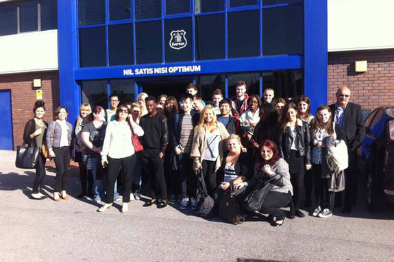 Business Management undergraduates from the Warrington School of Management