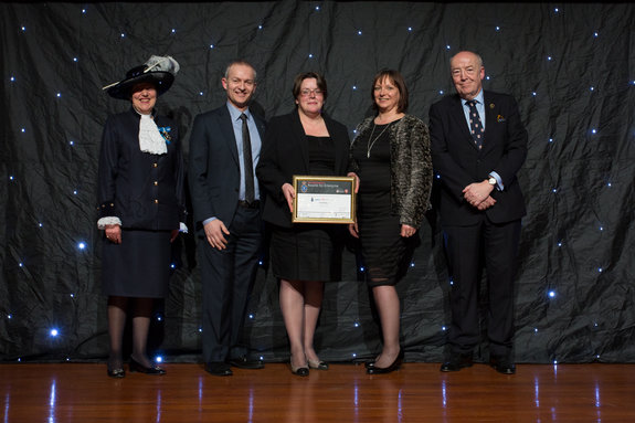 Susan Sellers, High Sheriff of Cheshire Mark Elliott, Director of Corporate Affairs at MBNA Caroline Sanger-Davies, Chester Zoo Melanie Cowieson, Chester Zoo Professor Phil Harris, University of Chester