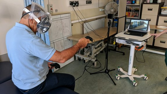 Virtual reality could be used to benefit stroke patients, thanks to a Chester-based research partnership.