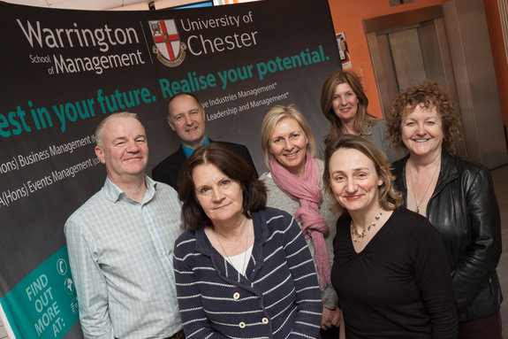 The team at the Warrington School of Management.