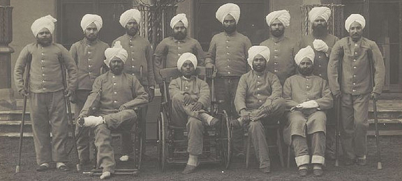 Image of Sikh Soldiers